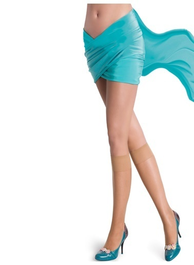 Pierre Cardin 4'Lü Parlak Dizaltı Çorap Renkli